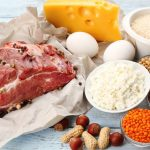 содержание белка в продуктах