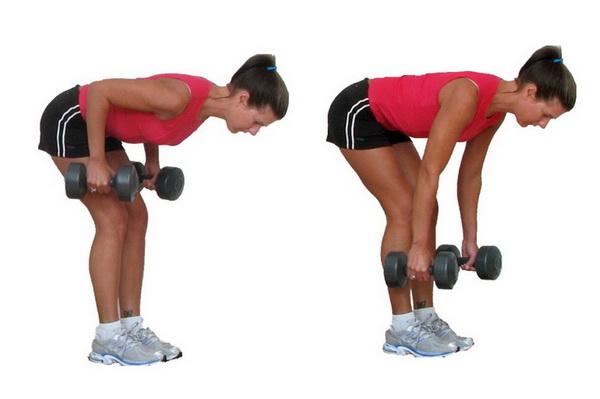 как накачать мышцы спины в домашних условиях упражнения