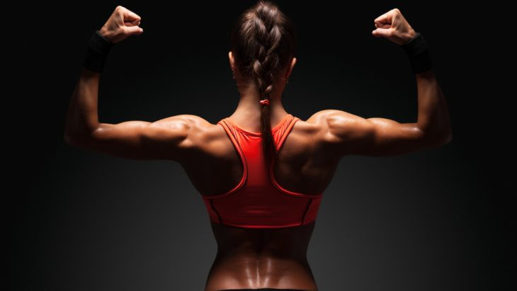 как накачать мышцы спины в домашних условиях девушке