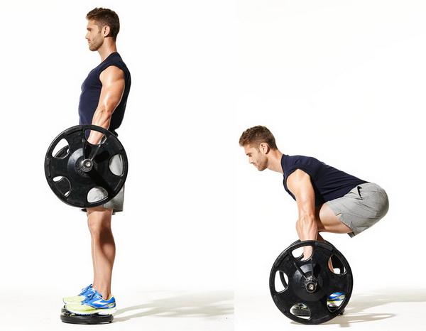 становая тяга техника выполнения для мужчин