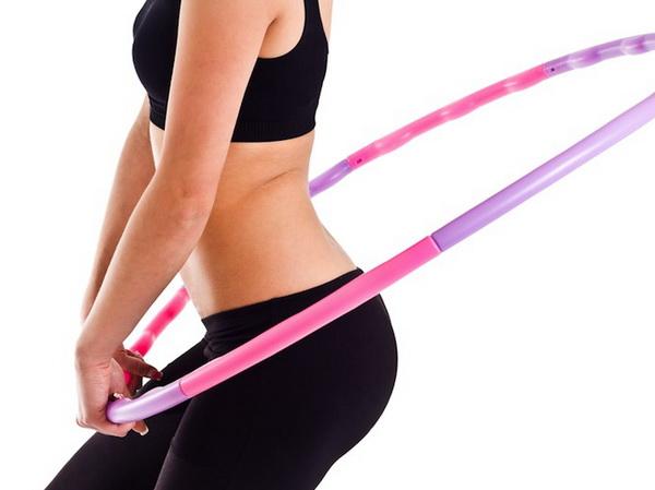 Занятия с обручем для похудения