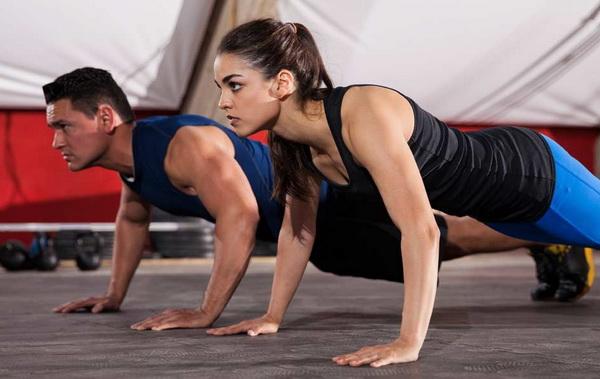 отжимания узким хватом какие мышцы работают
