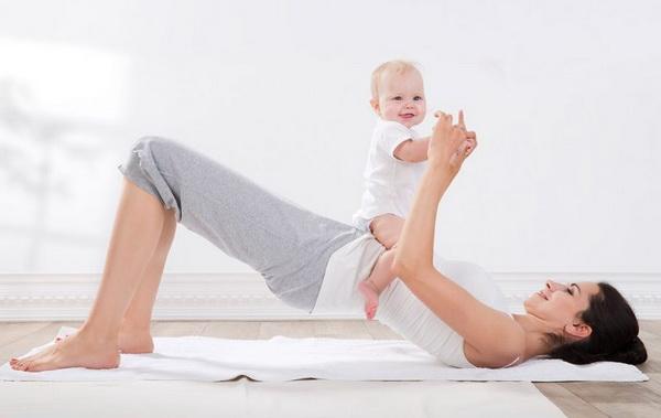 Домашние тренировки после родов