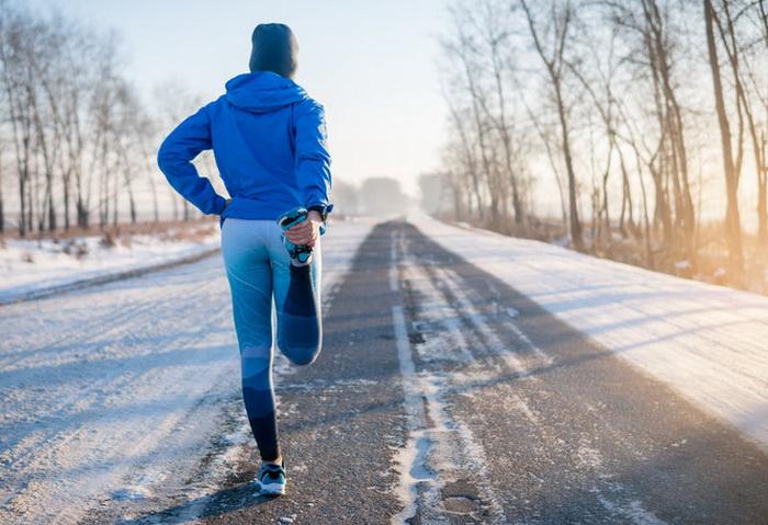Зимняя тренировка