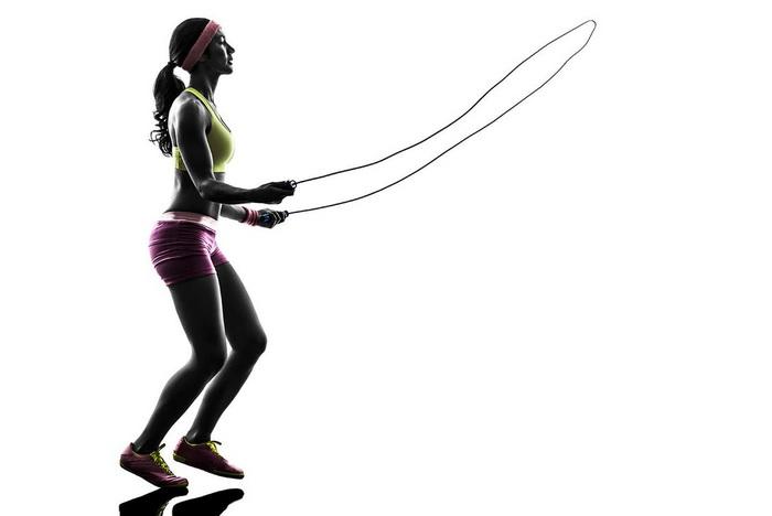 Тренировка на скакалке