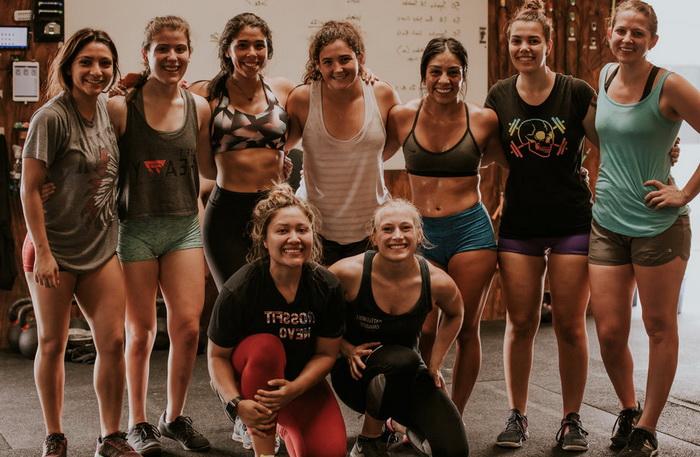 кроссфит программа тренировок для девушек