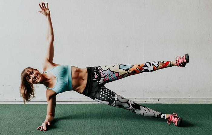боковая планка какие мышцы работают
