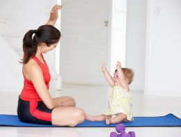 фитнес после родов дома