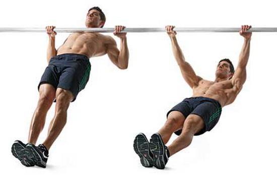 Упражнение для широчайших мышц спины в домашних условиях